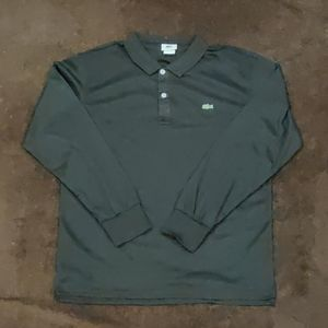 Lacoste long Sleeve Collar Polo